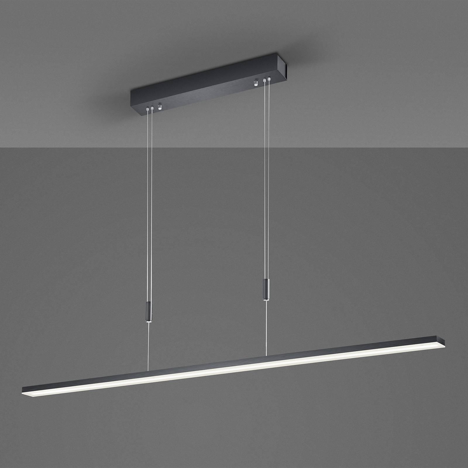 Bopp Baseline LED-Hängeleuchte, schwarz