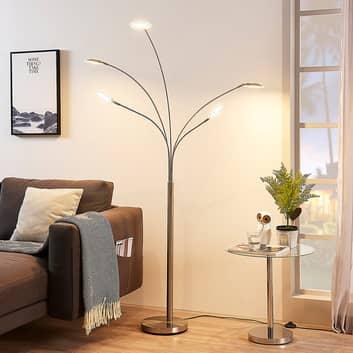 Lampada LED da pavimento Anea a 5 luci