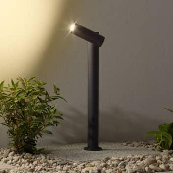 LED-pollarivalaisin Narea, säädettävä, 43 cm