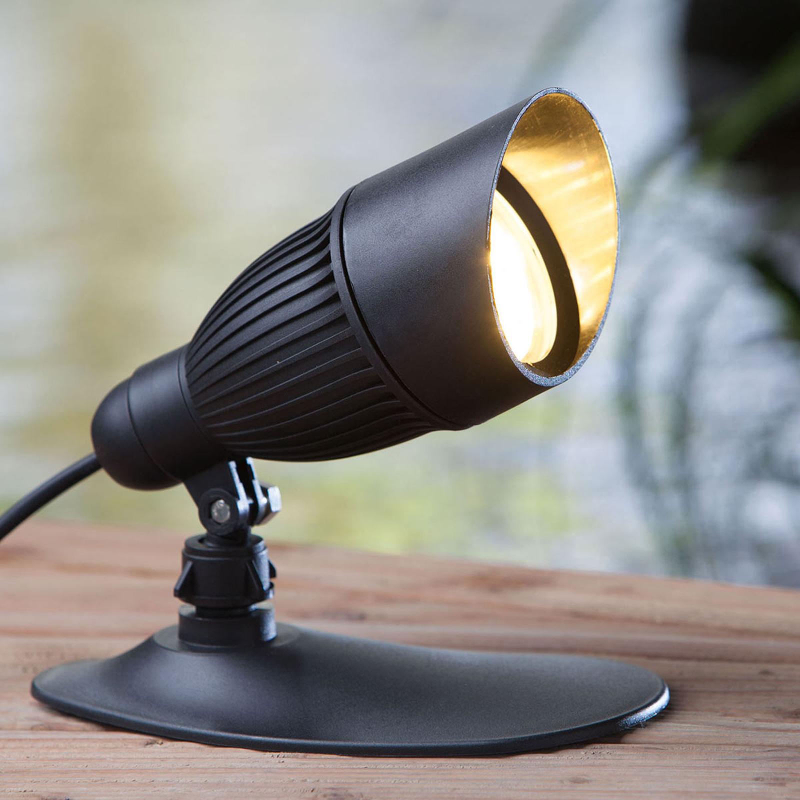 HEISSNER SMART LIGHTS LED-spot, svart, 9 W