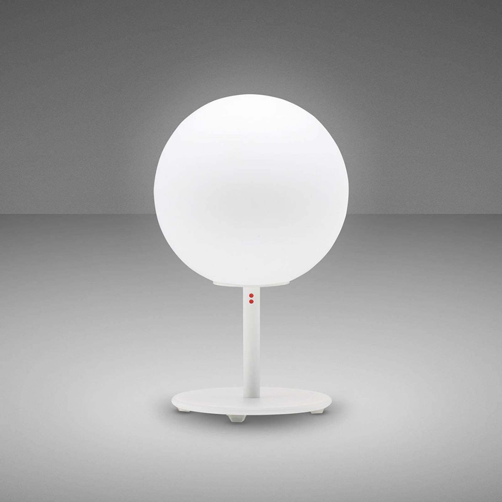Fabbian Lumi Sfera lampe à poser, debout, Ø 14cm