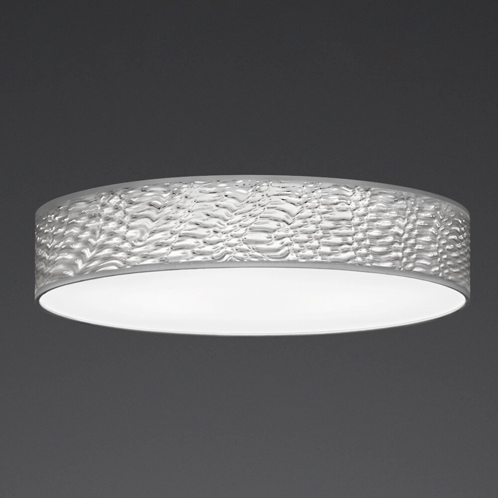 LED-Deckenleuchte Luno mit 3D-Schirm, 60 cm