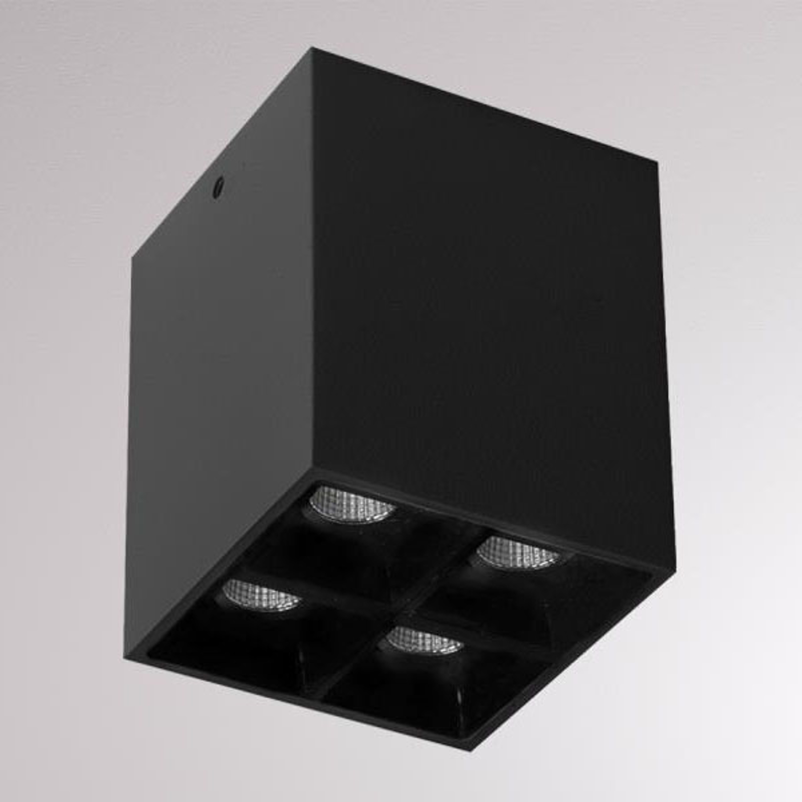 Liro LED-Deckenstrahler schwarz 34° 3.000 K