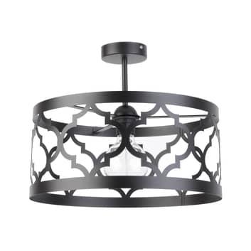 Lámpara de techo Modul Maroko L, negro