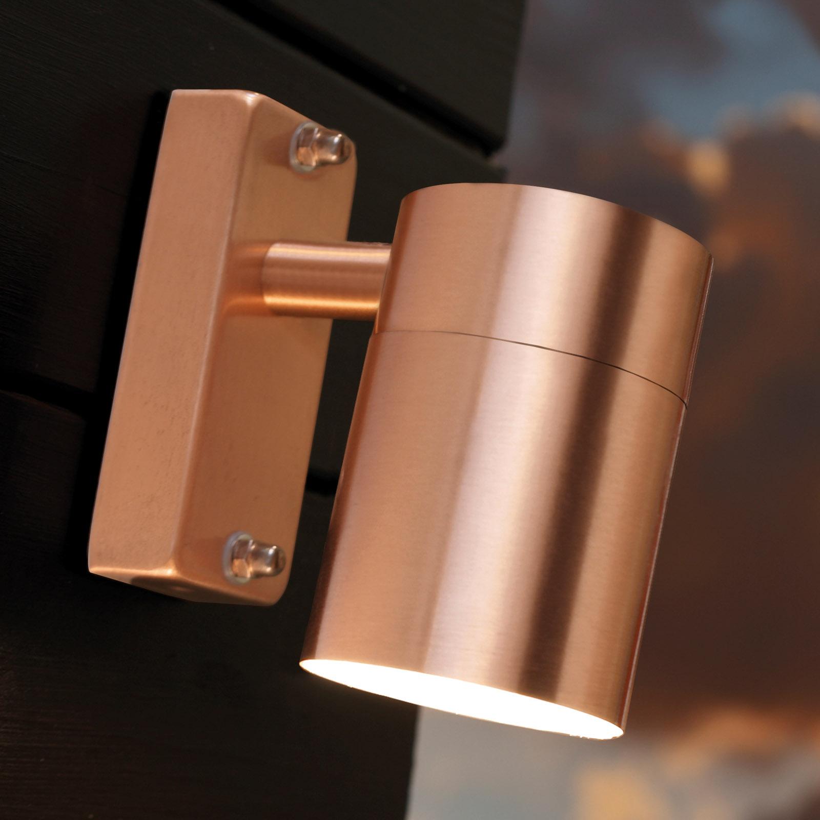 moderna lampada da parete esterna Tin in rame