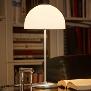 BANKAMP Meisterwerke -LED-pöytävalaisin nikkeliä