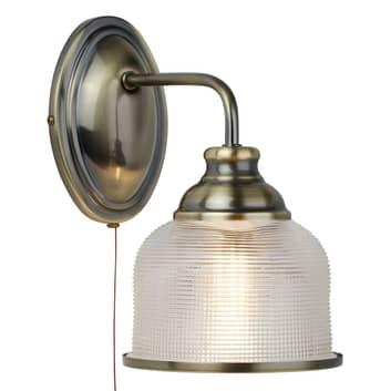 Elegante applique vetro olofano Bistro II