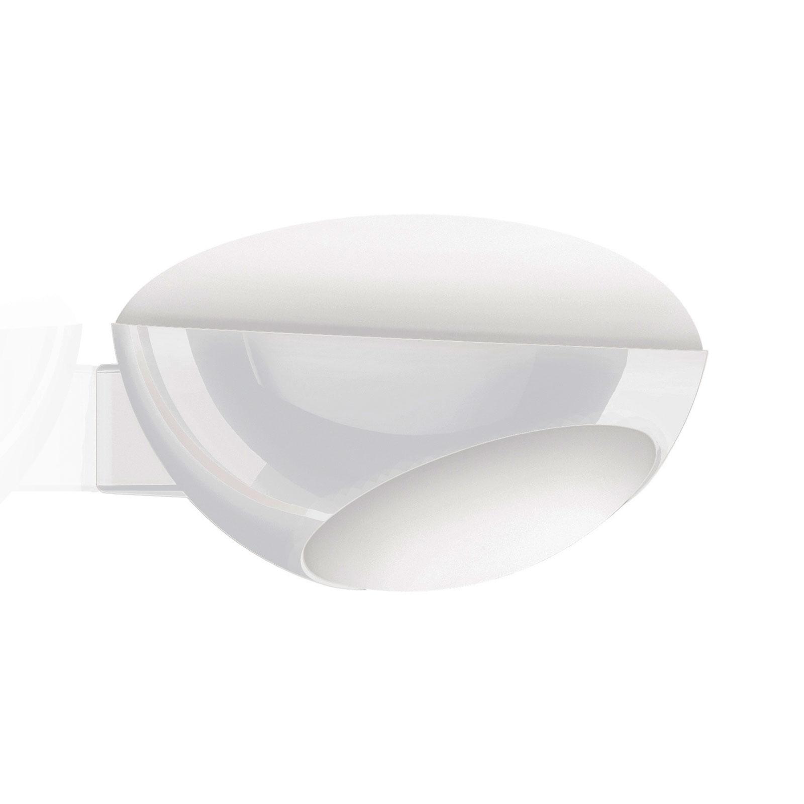 Kundalini Tua LED wandlamp, wit