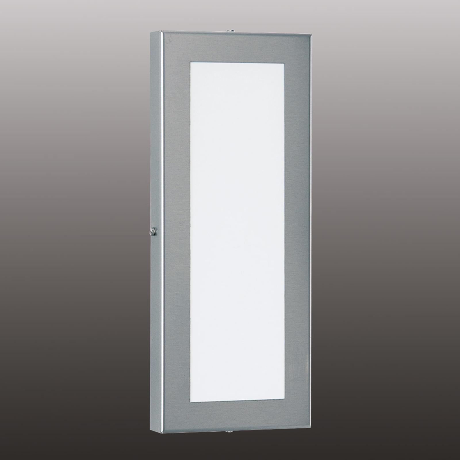 Alina - applique LED allongée en acier inox