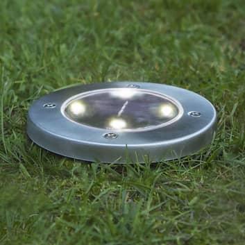 Aurinkokäyttöinen Lawnlight-LED-lamppu maapiikillä