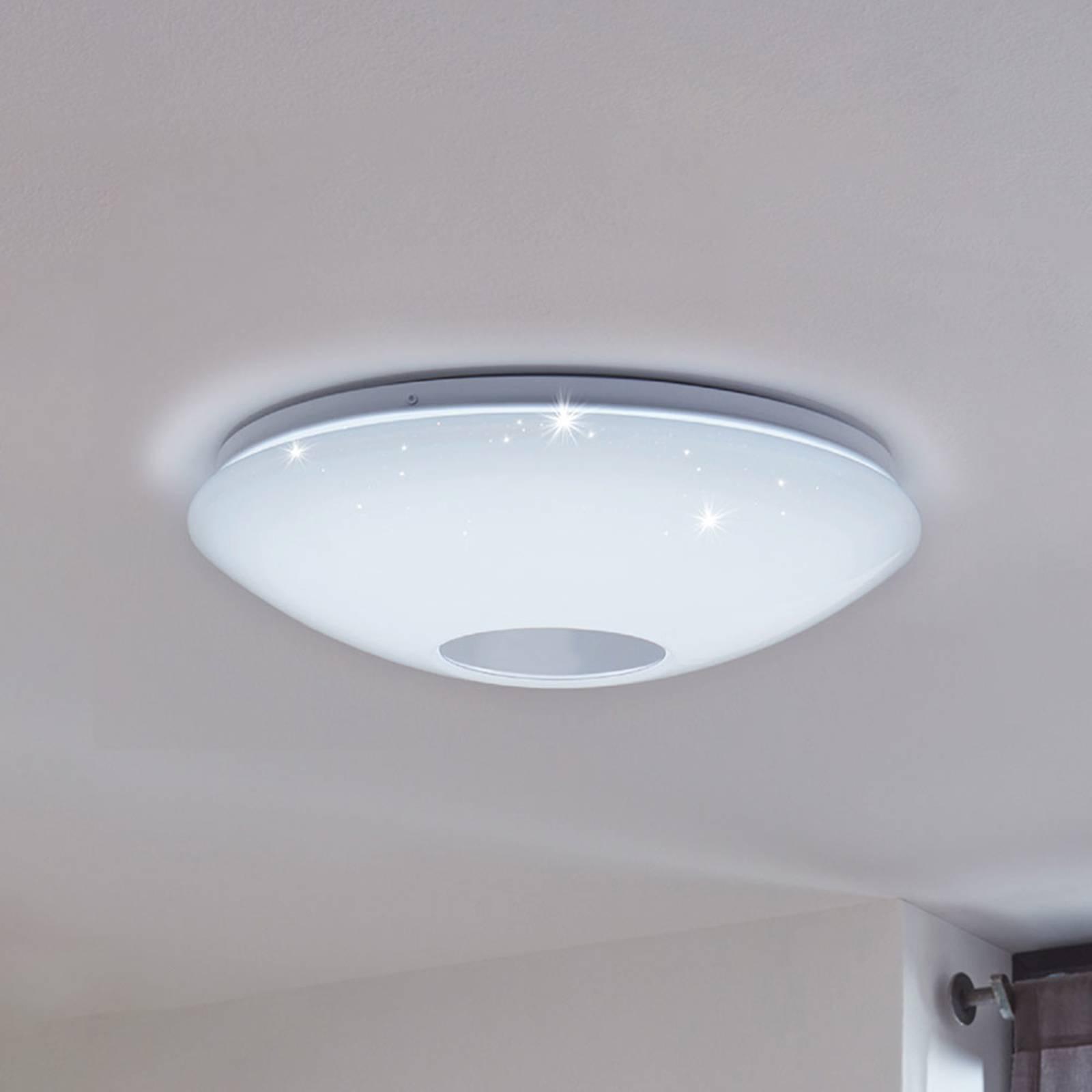 Plafoniera LED EGLO connect Voltago-C tonda bianca