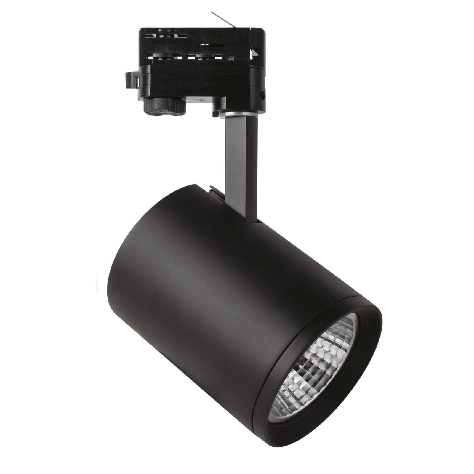 LED-Spot Marco für 3-Phasen-Schiene schwarz 3.000K