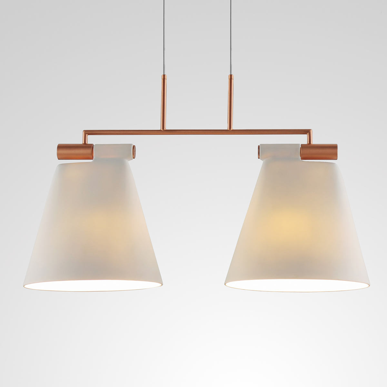 Pendellampe Cone Light S2 med to lys