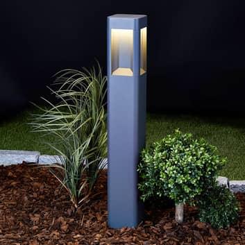 Słupek oświetleniowy LED Annika z aluminium, 80 cm
