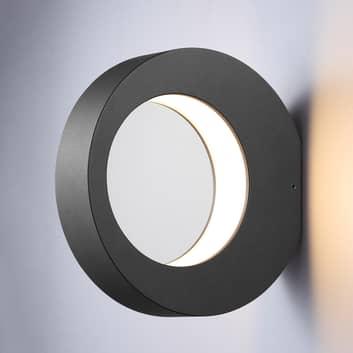 Ringformig LED utomhusvägglampa Larika