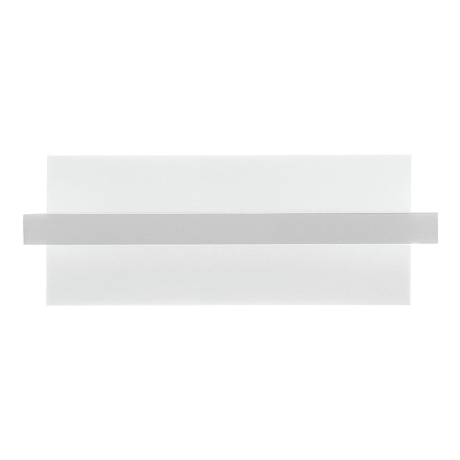 LED wandlamp tablet W1, breedte 24 cm, wit