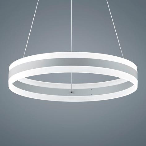 Helestra Liv – LED-pendellampe, matt hvit, 60 cm