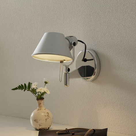 Mała designerska lampa ścienna Tolomeo Faretto