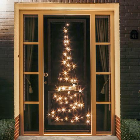 Dør juletræ silhuet Fairybell® - 2,10 m