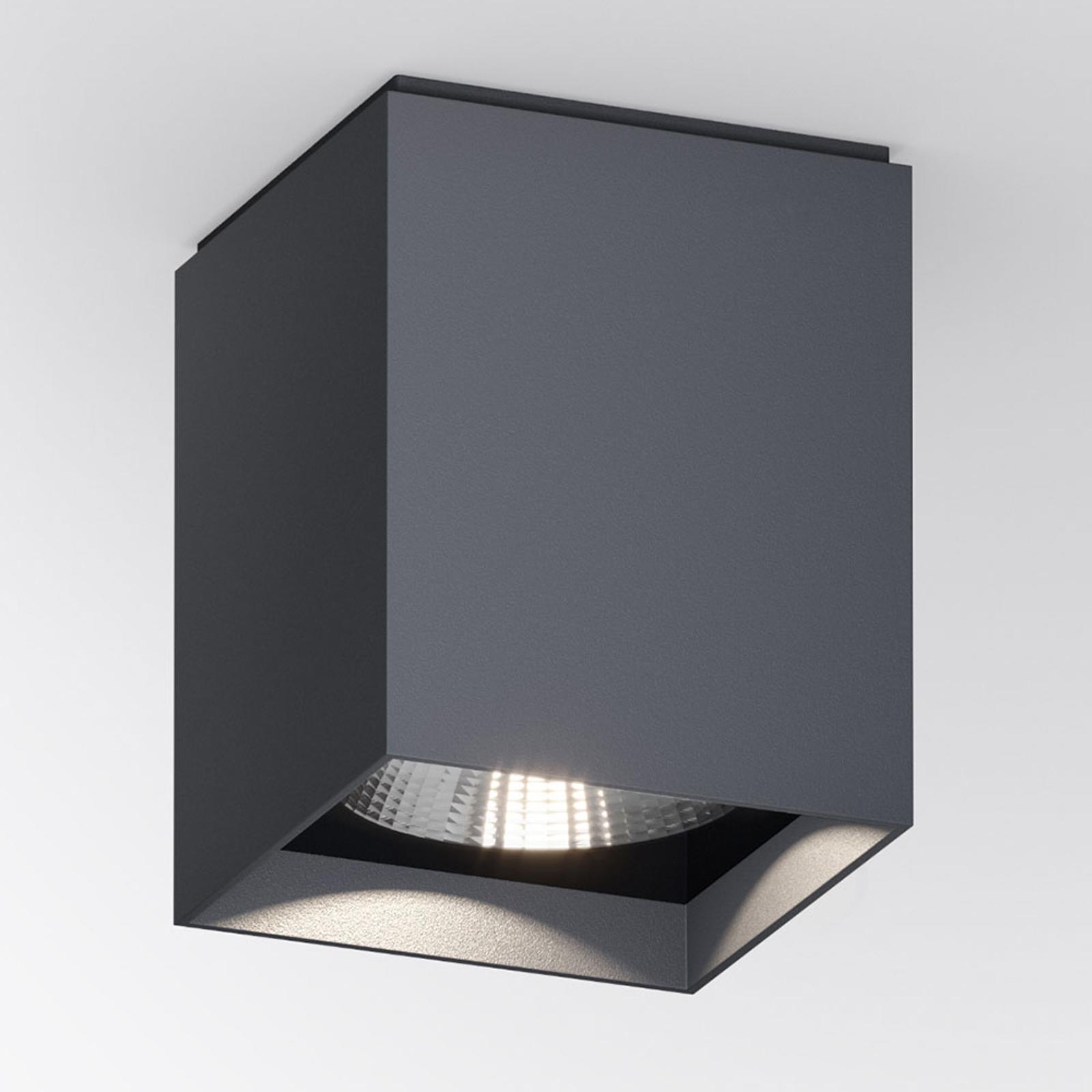 IP44.de Up S LED-Außendeckenlampe eckig, anthrazit