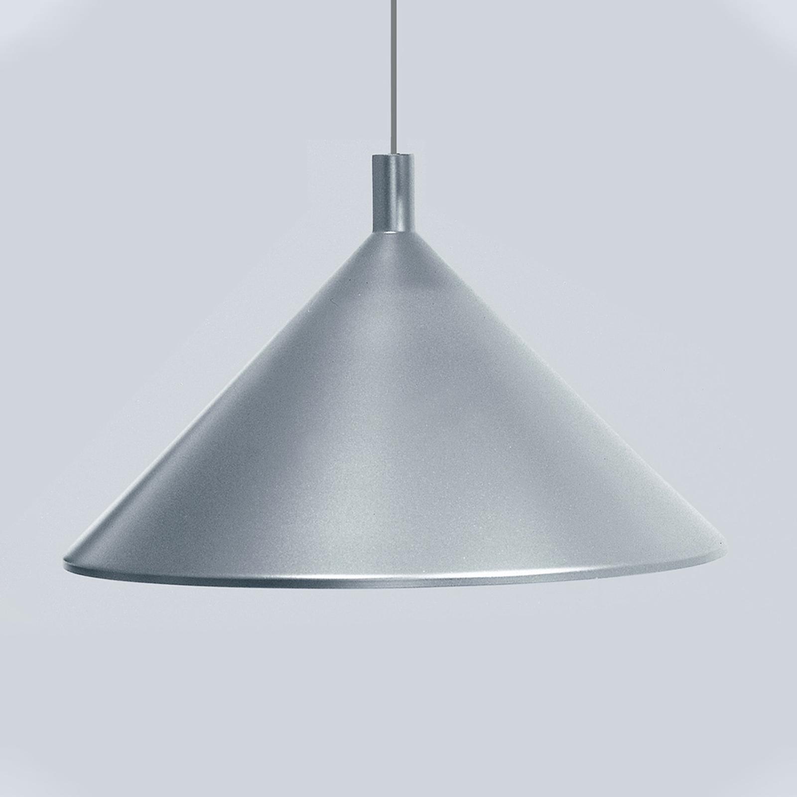 Martinelli Luce Cono Hängeleuchte grau, Ø 30 cm
