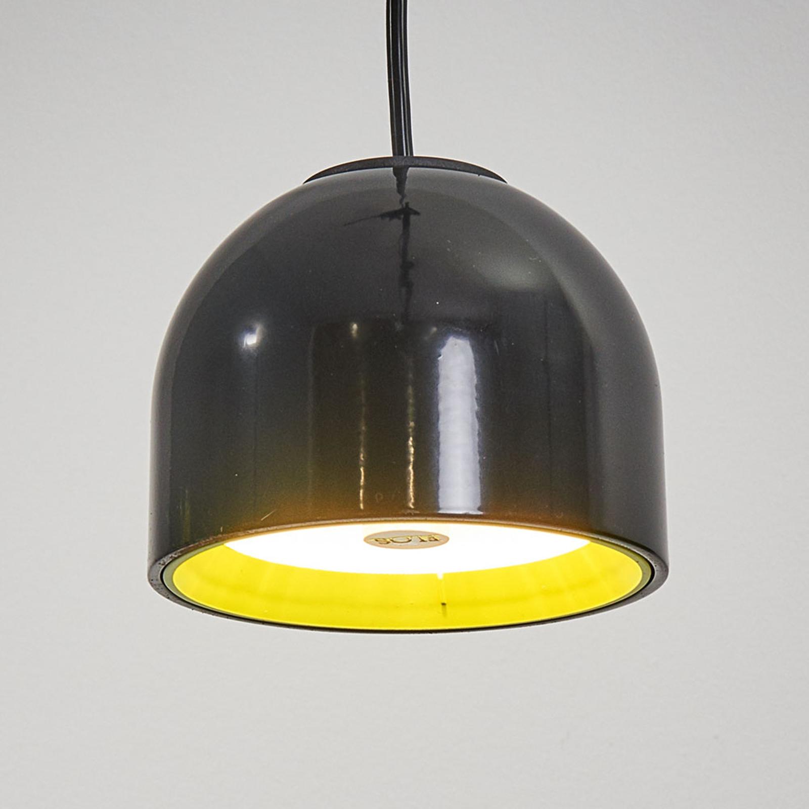 Czarna lampa wisząca WAN S mała