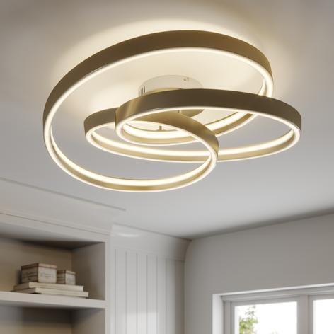 Lucande Gunbritt LED-Deckenleuchte, 80 cm