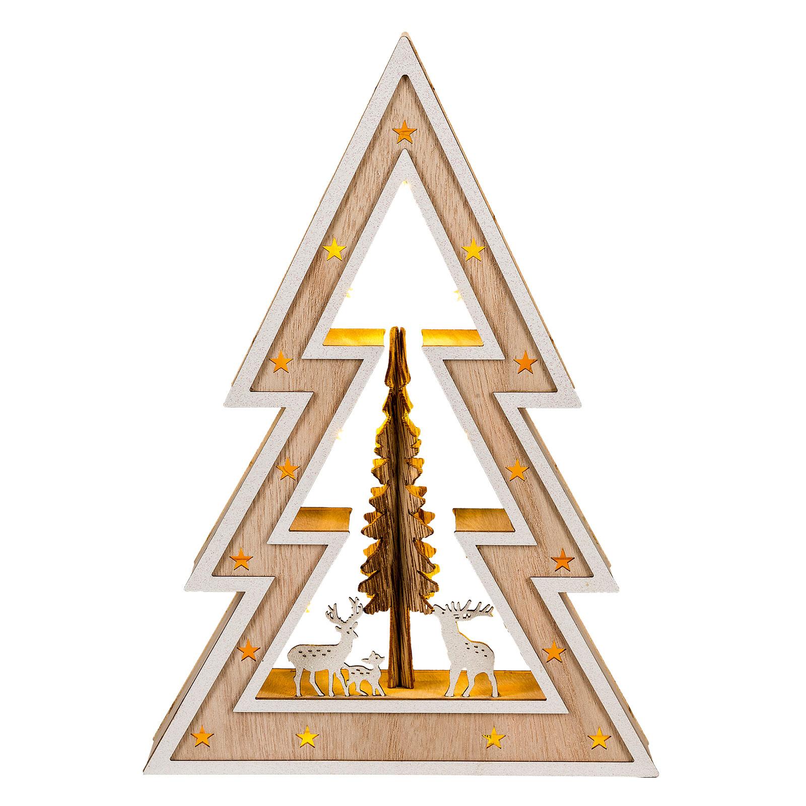 Saico Vianočný LED stromček Country Style