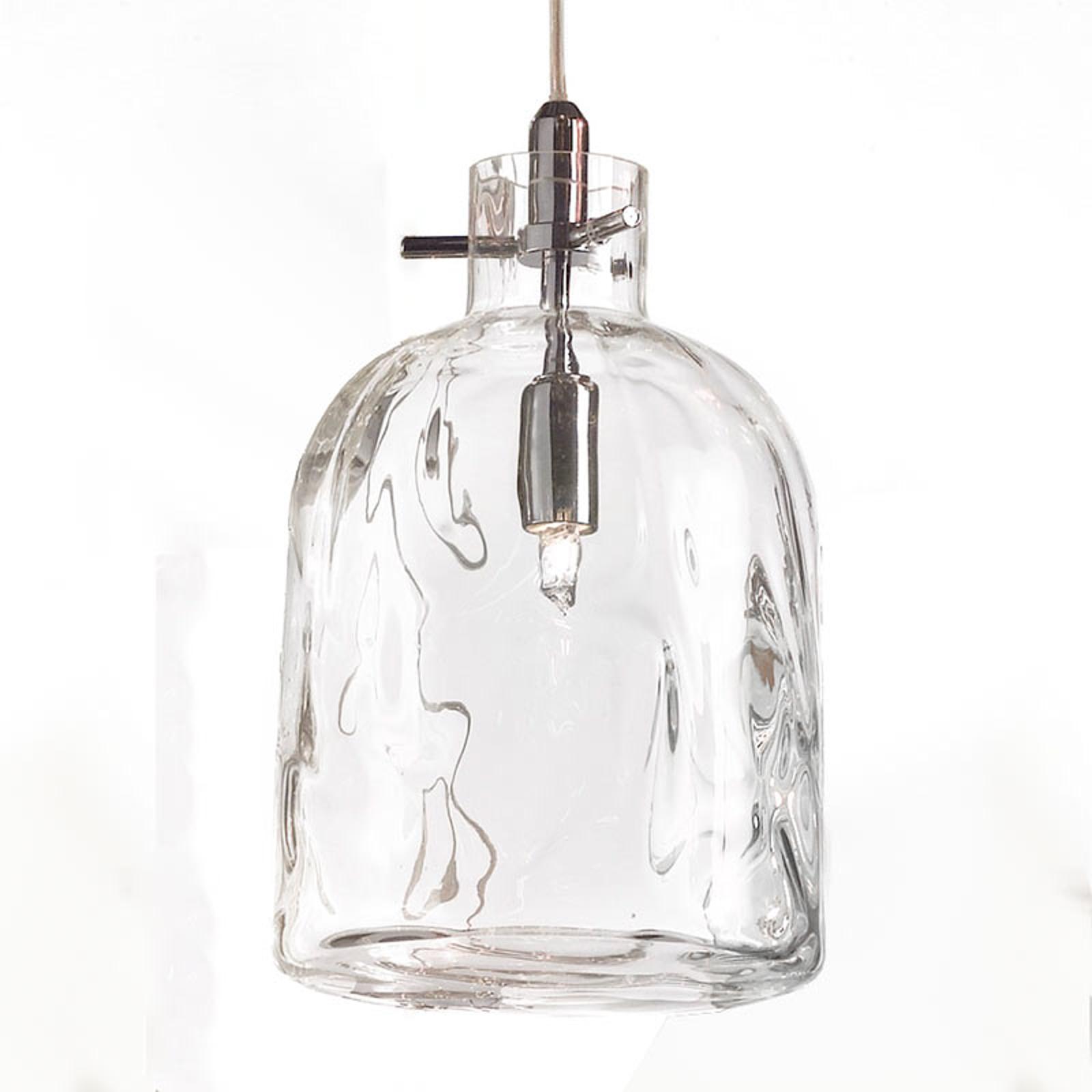 Lampa wisząca Bossa Nova 15 cm przeźroczysta