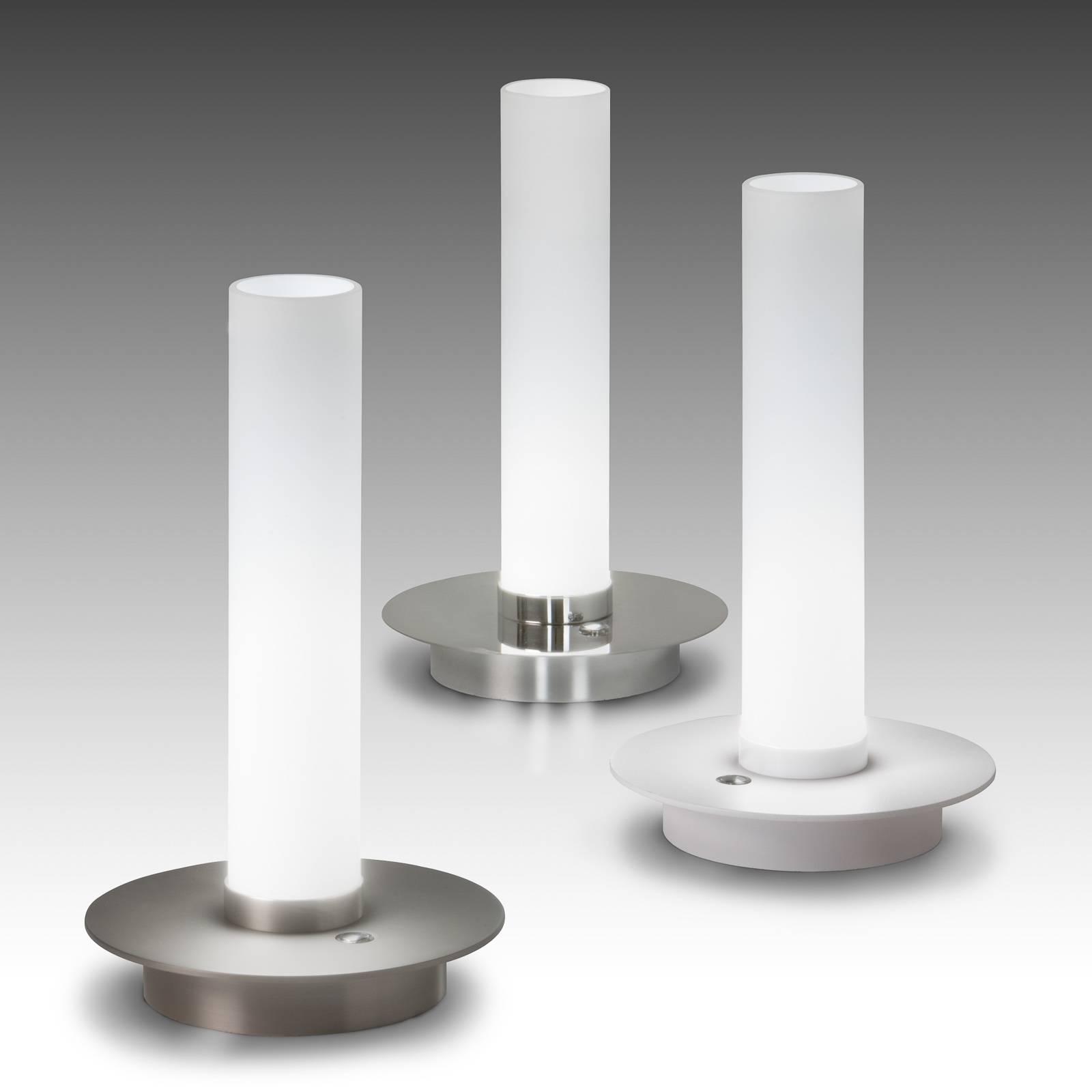 LED-Tischleuchte Candle, chrom