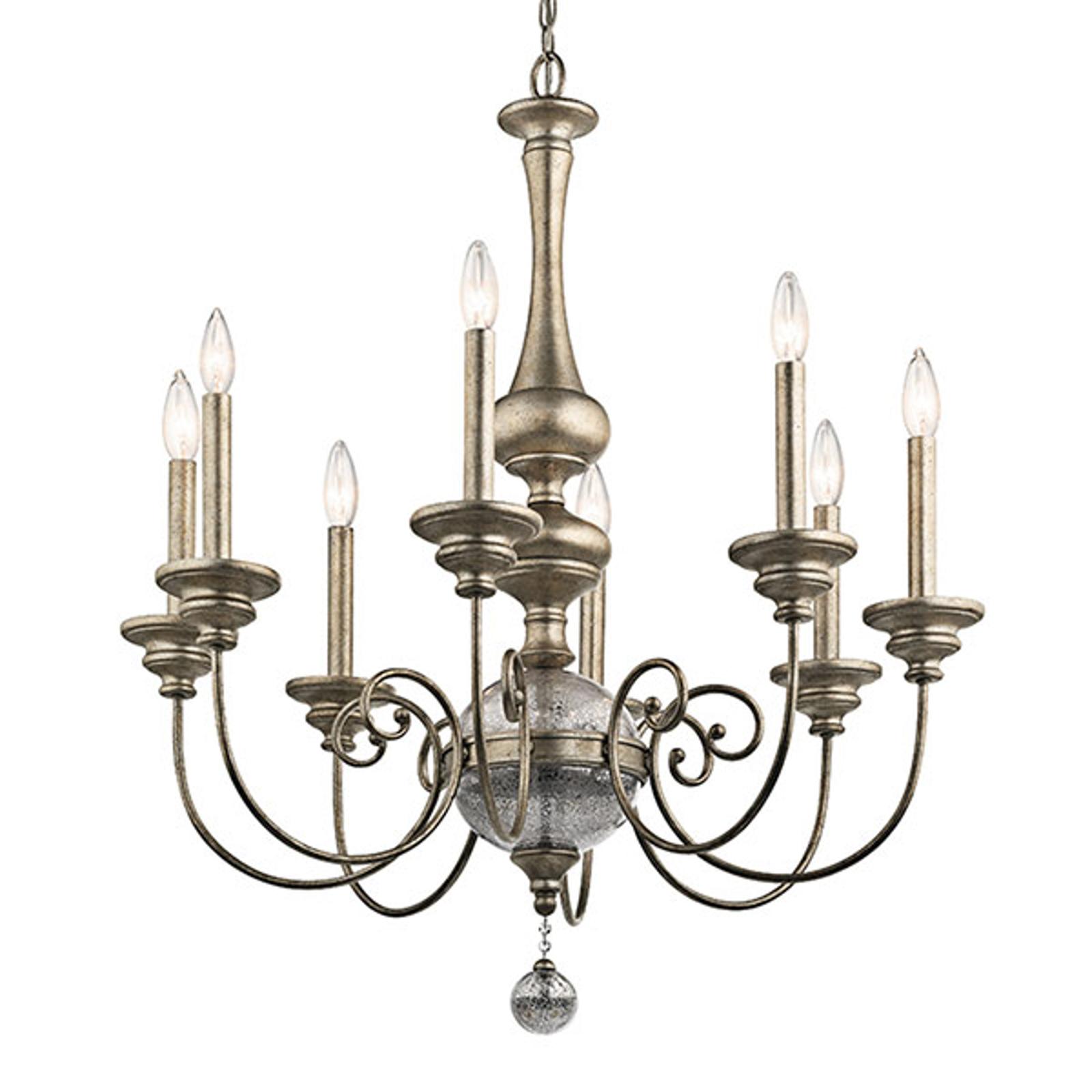 Kroonluchter Rosalie 8-lamps.