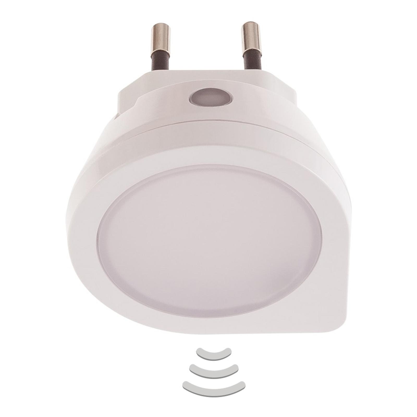 Luna sensor LED-stikkontaktlampe natlys