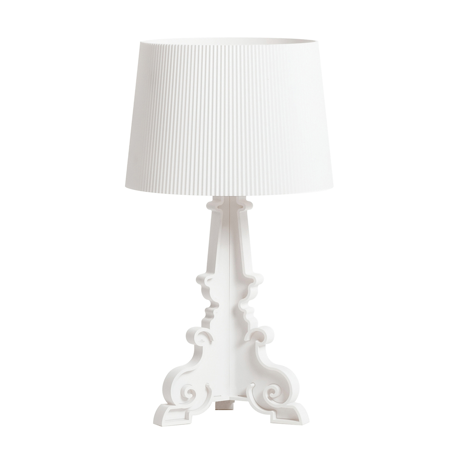 Kartell Bourgie Mat lampa stołowa LED E14 biała