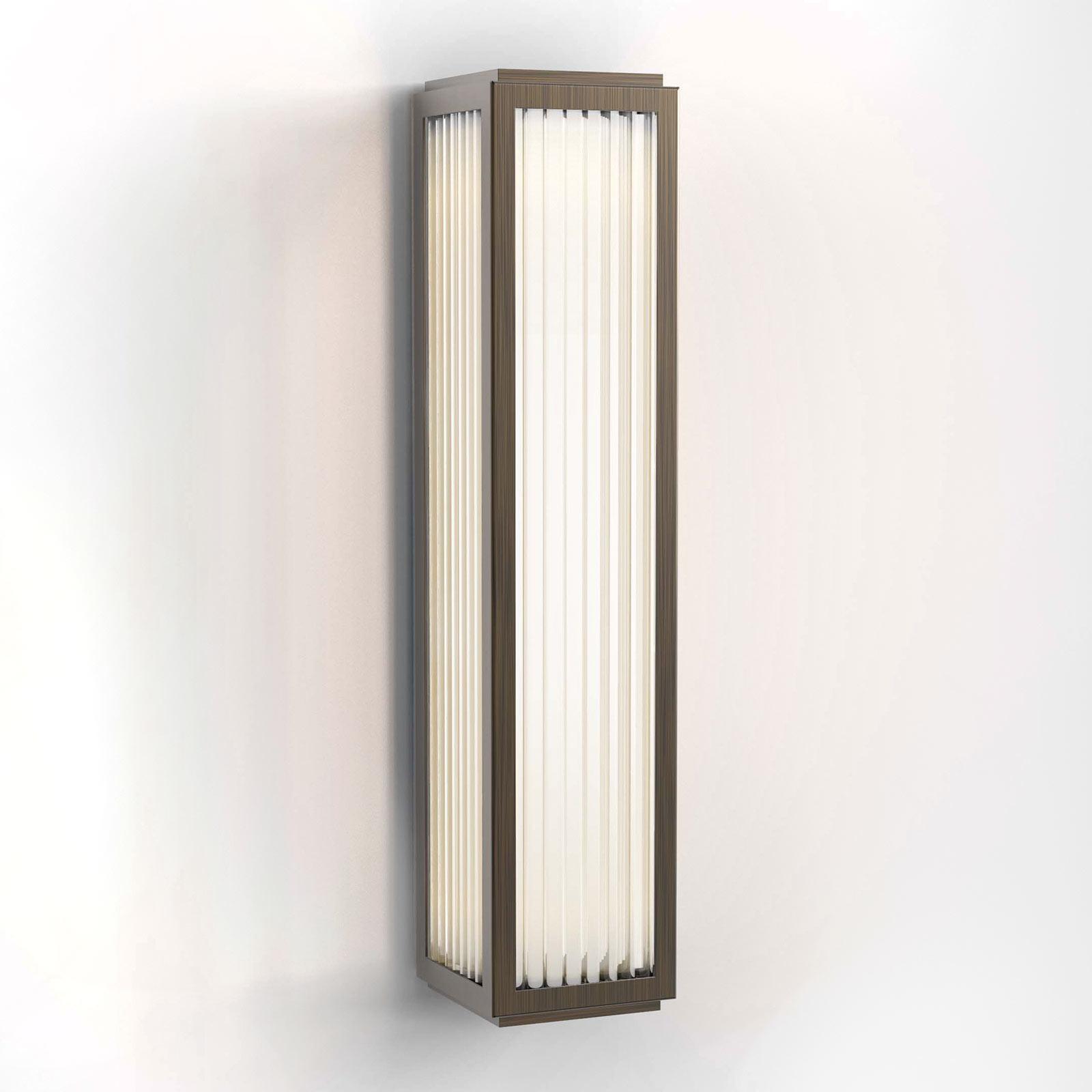Astro Boston 370 LED wandlamp v. badkamer, brons
