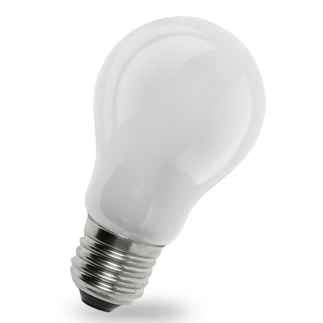 Lampadina a LED E14 4W 827, interno opaco