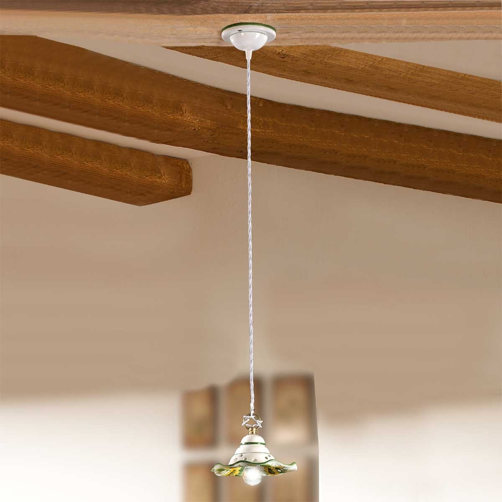 Piccola lampada a sospensione GIRASOLA