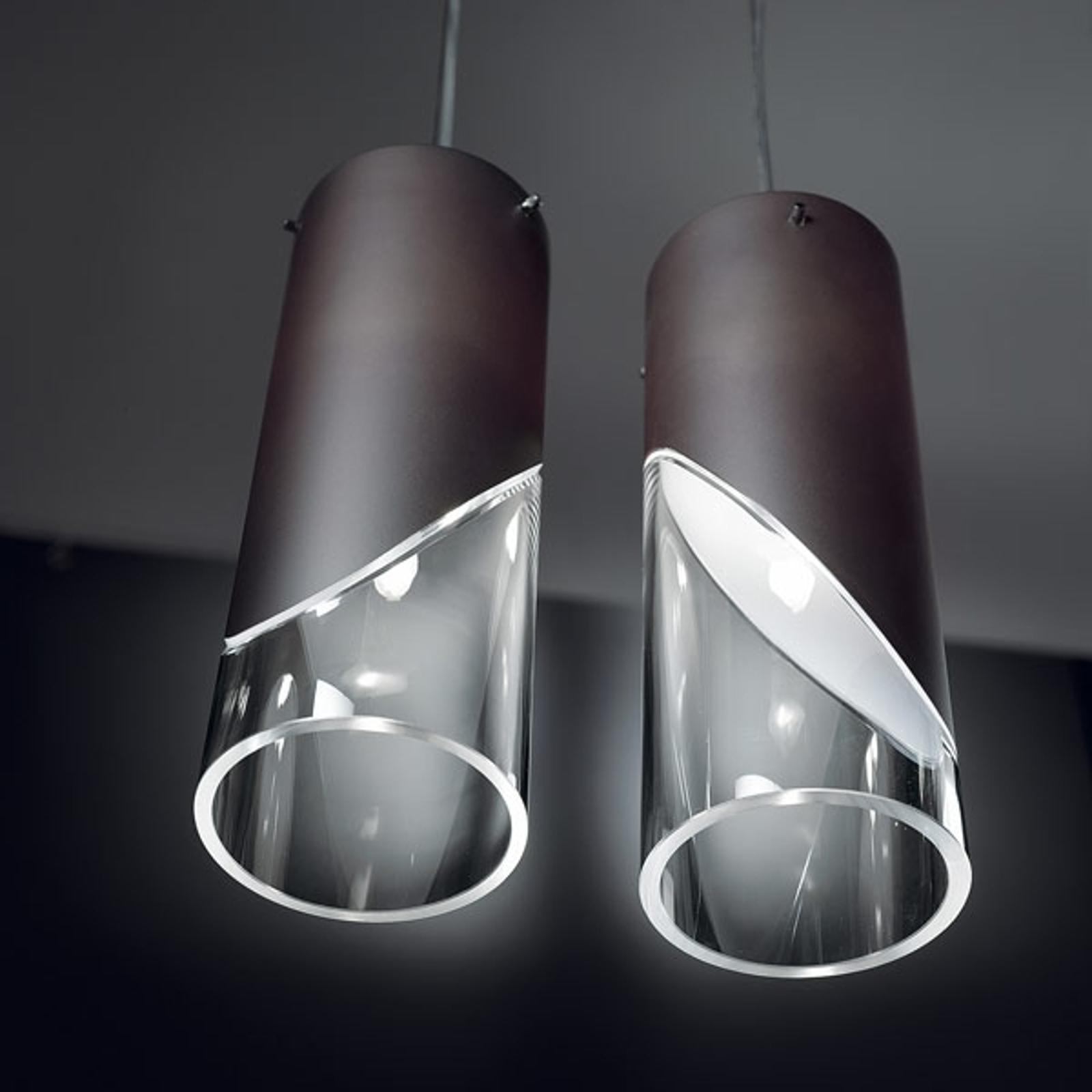 Atrakcyjna stylizowana lampa wisząca CAPO CABANA
