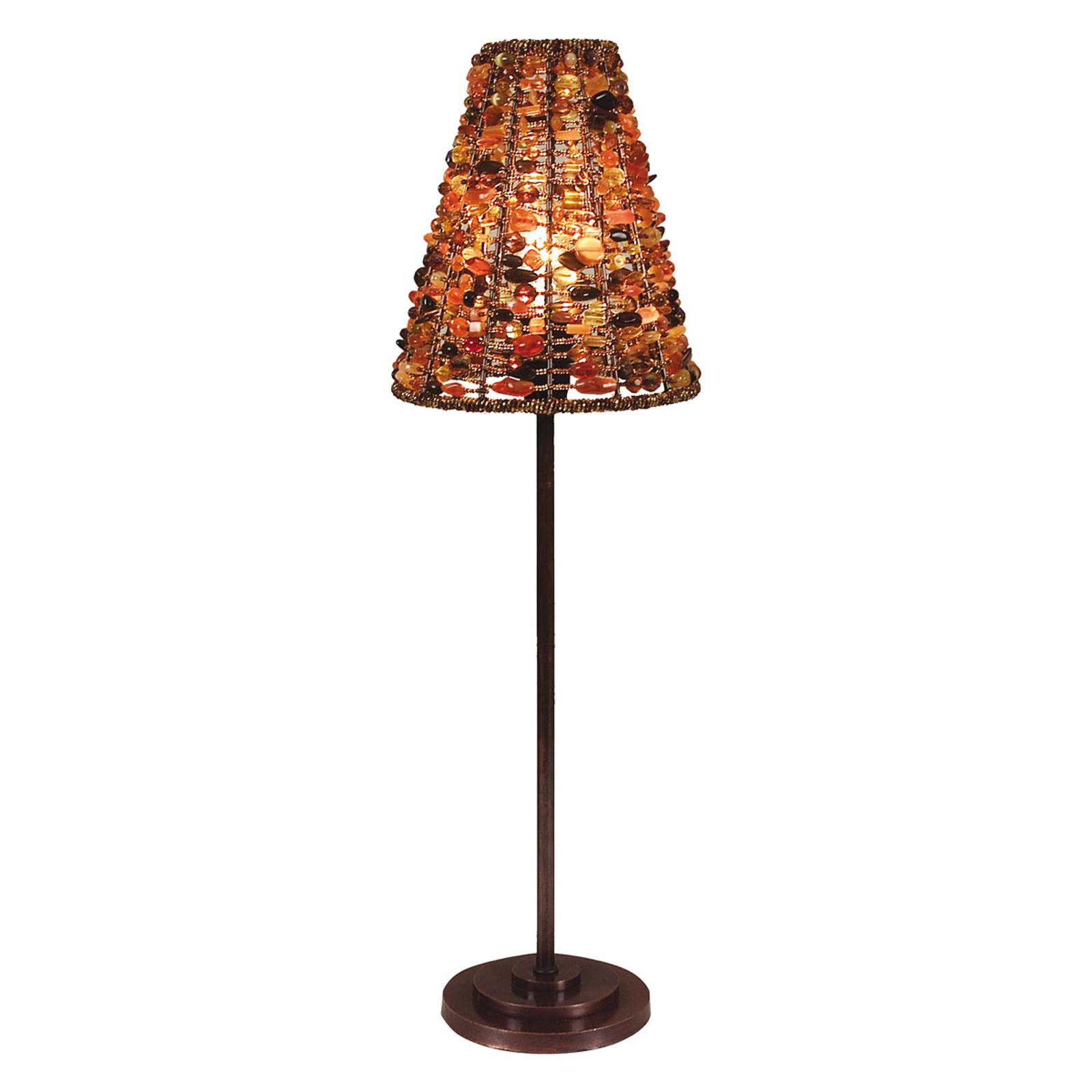 Tafellamp Bella met ronde kap/voet