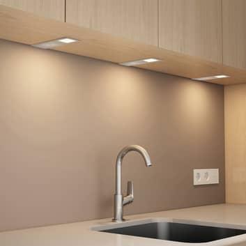 Arcchio Nortra -LED-kaapinalusvalaisin, 3 kpl