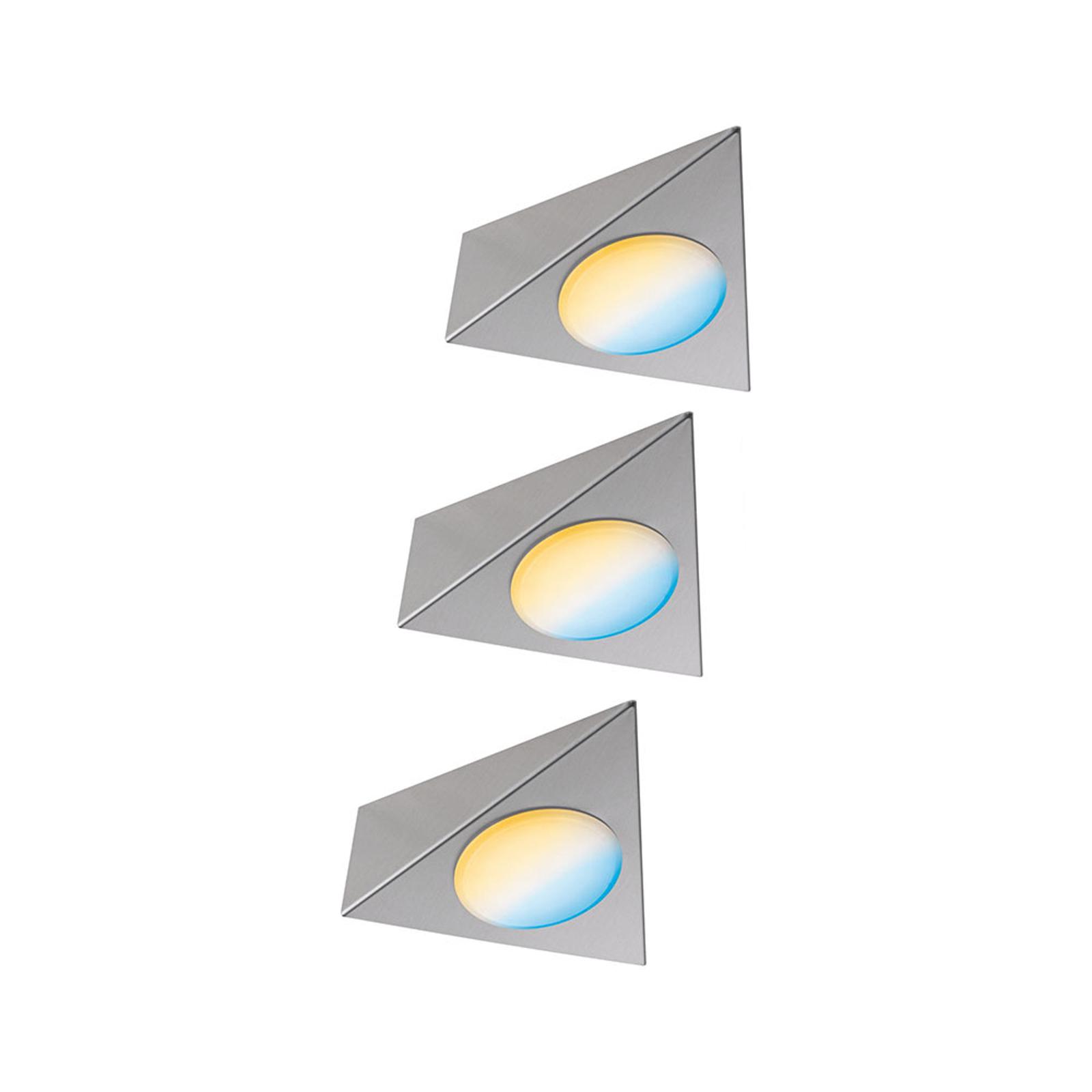 Paulmann Clever Connect Trigo lampe meuble par 3