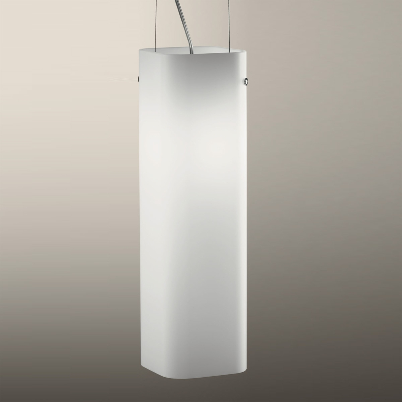Illuminerende 1-lichts hanglamp CARRE