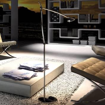 Moderna lampada LED da terra Perceval