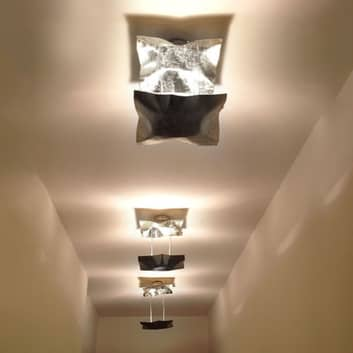 Knikerboker Piccola Crash Deckenlampe blattsilber
