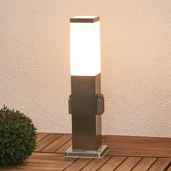 Energiesäule Lorian mit Beleuchtung