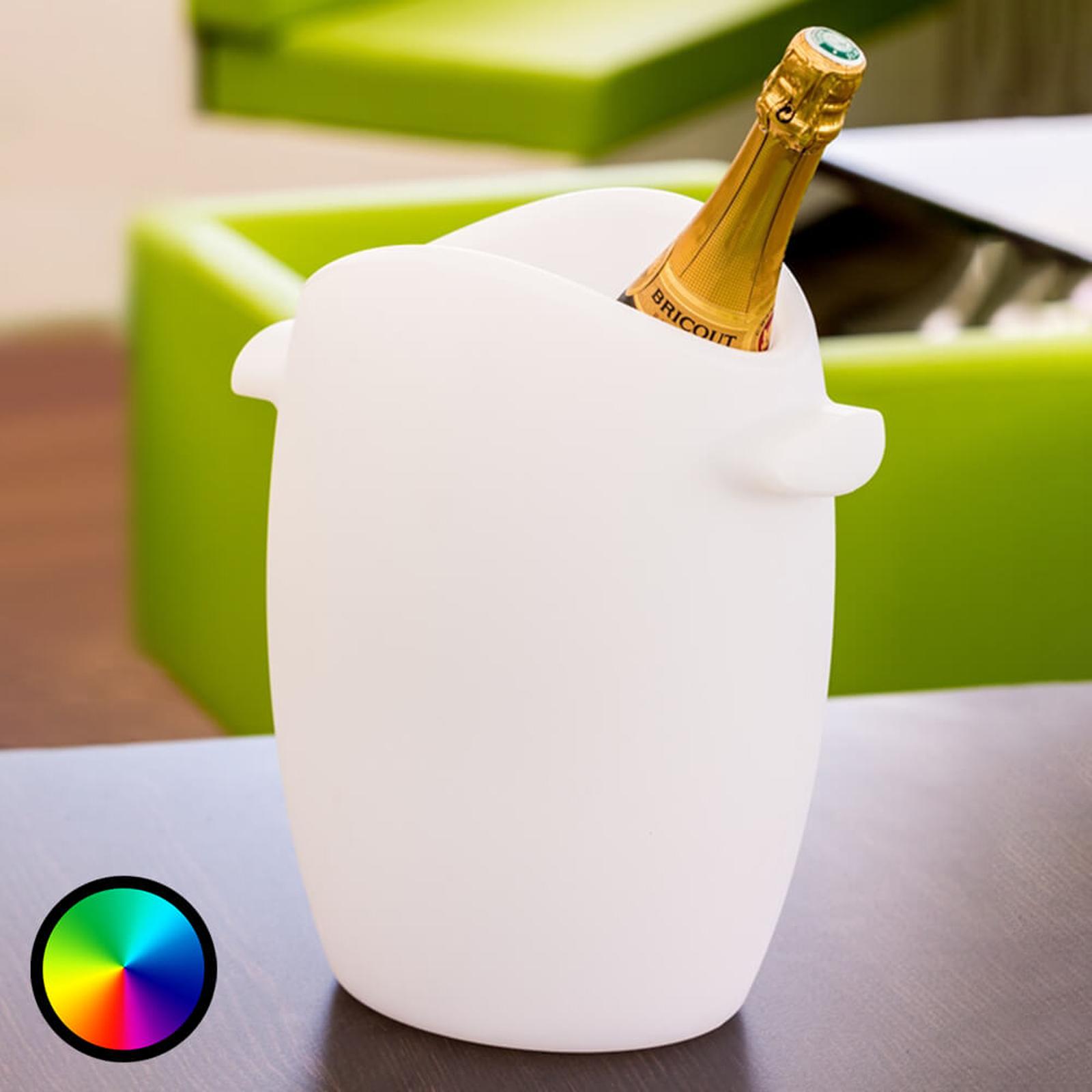 Fresh - ein leuchtender LED-Flaschenkühler