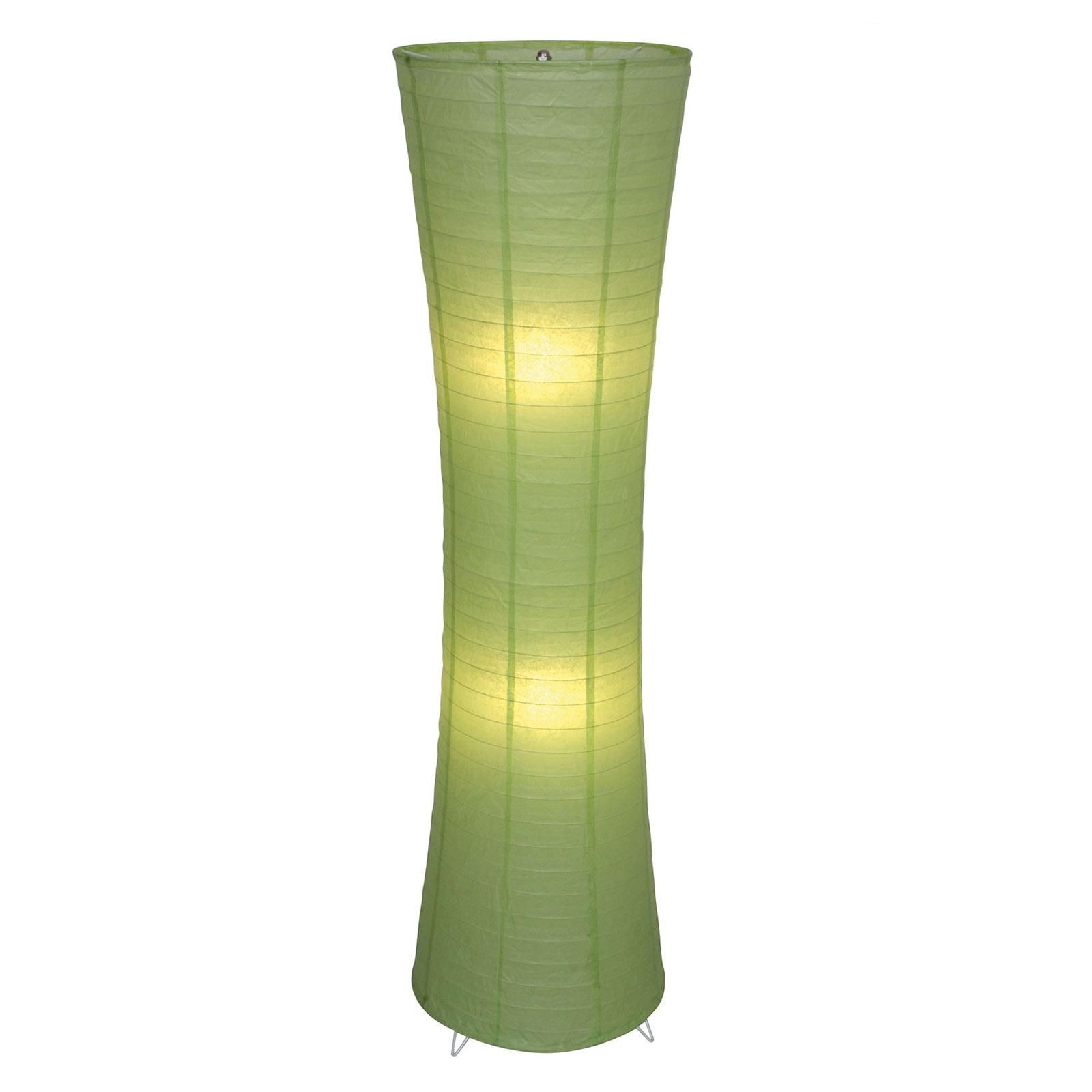 Lampada da terra Ranpu verde