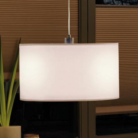 Paulmann stofflampeskjerm Tessa, 45,4 cm krem