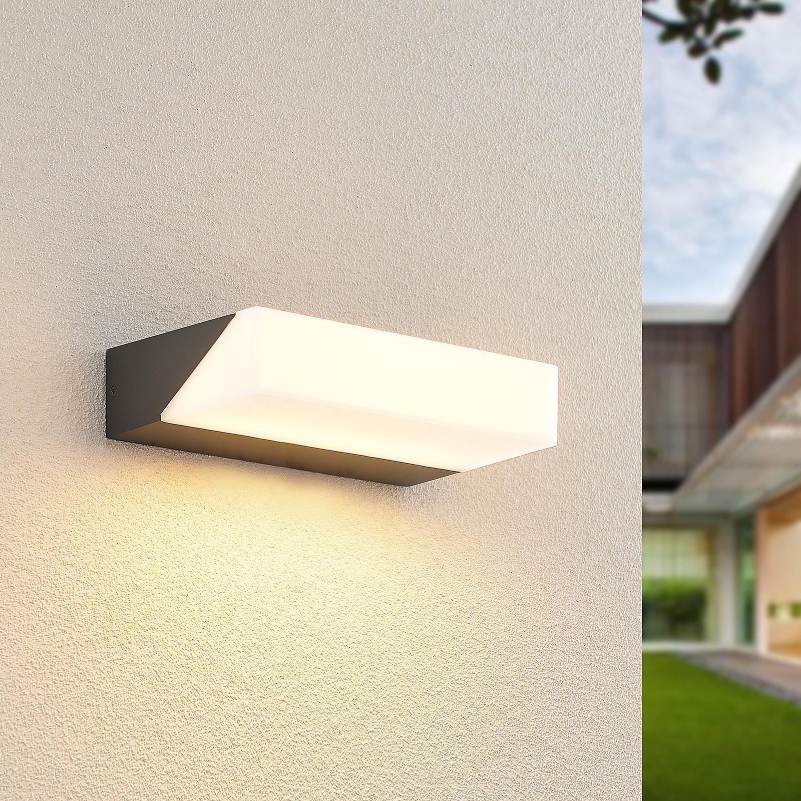 Lucande Golnar applique d'extérieur LED