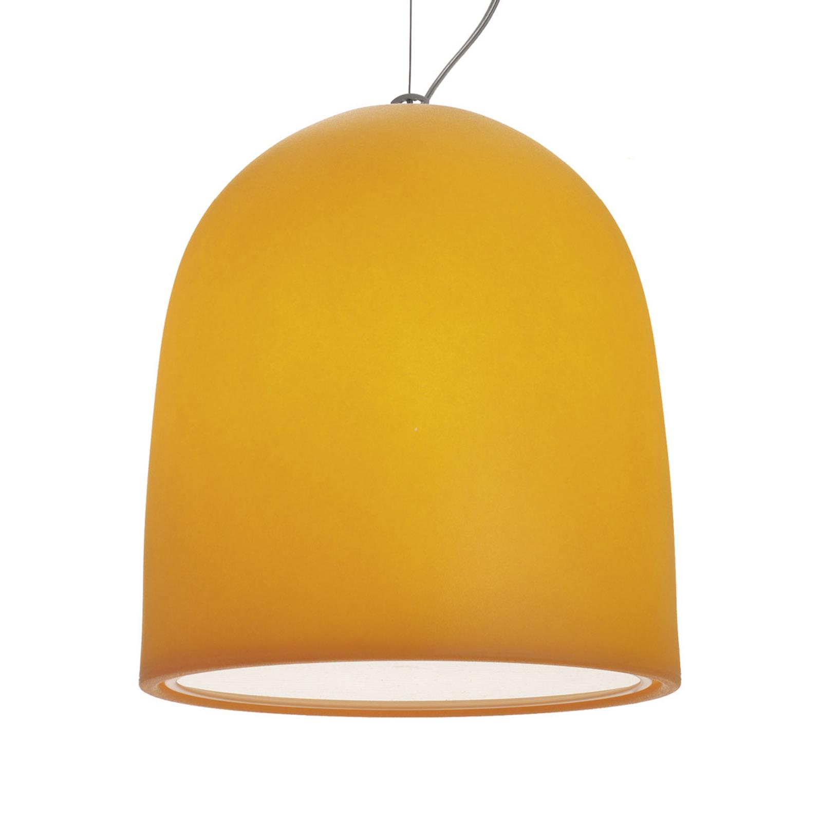 Modo Luce Campanone lampa wisząca Ø 51cm pomarańcz