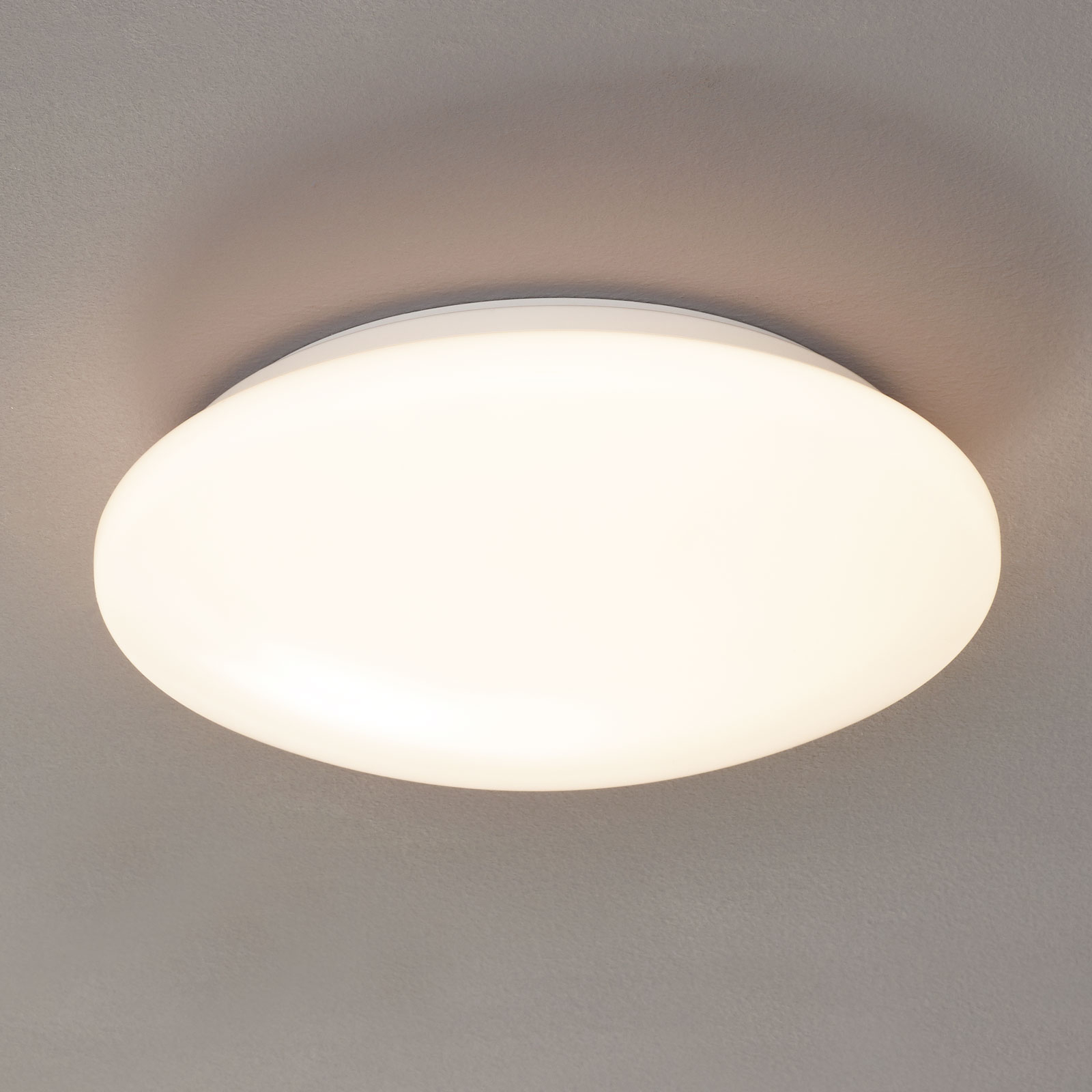 LED-taklampe Pollux, bevegelsessensor, Ø 27 cm